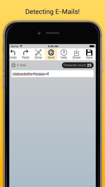 Clipboard Editor Pro - Edit, Manage, Store screenshot-3