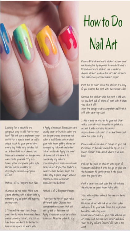 NailPro Nail Art For Beginners