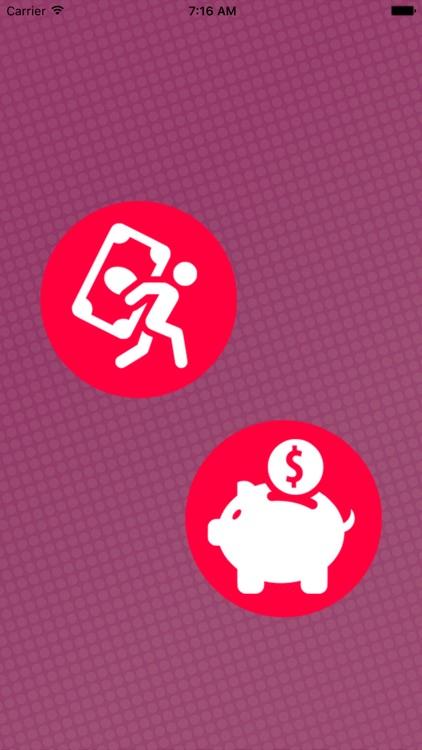 Debt Free - App will maintain your Savings