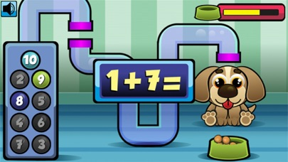 Feed Poochy Addition and Subtraction Game screenshot three