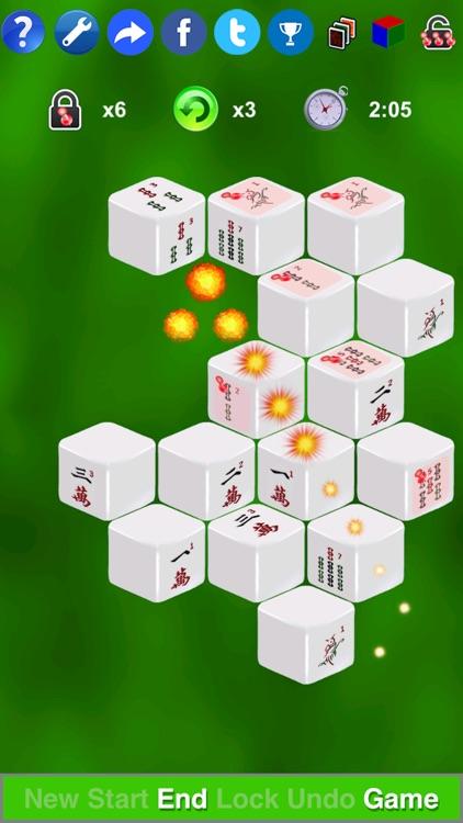 Mahjong 3D Solitaire Mini screenshot-3