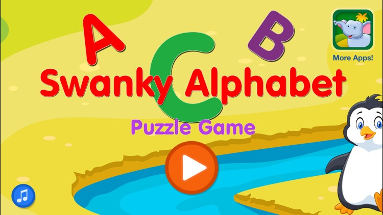 Little Children's Educational Swanky Alphabet Puzzle Game screenshot-3