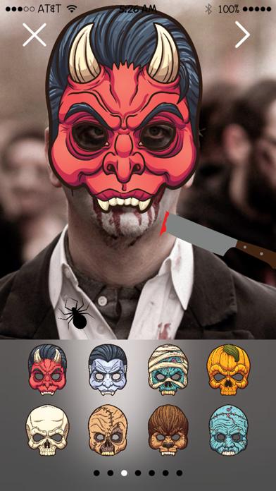 Fright Night: FREE Photo Stickers App screenshot three