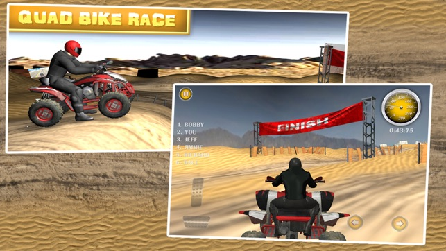 Quad Bike Race - Desert Offroad on the App Store