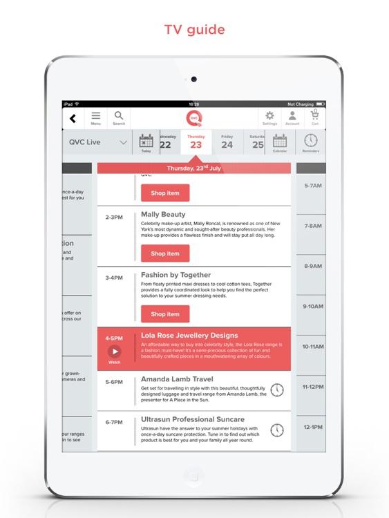 QVC iPad edition screenshot-3