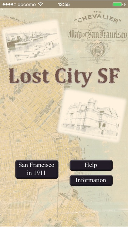 1911 San Francisco Map Lost City screenshot-4