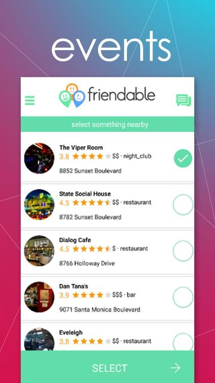 Friendable - find, message & meet new people screenshot-4