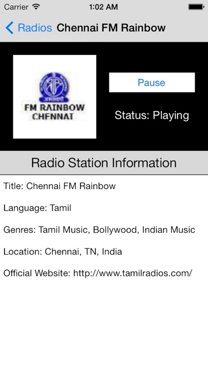 India Radio Live Player (Tamil / Hindi / Indian) screenshot-4