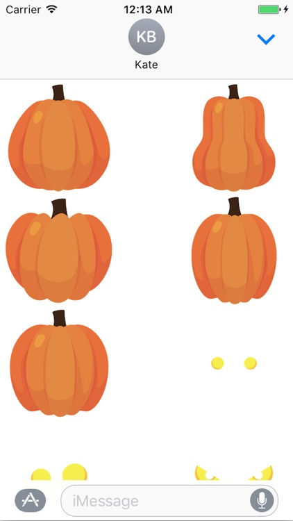 Jack O Lantern Creator Stickers screenshot-1