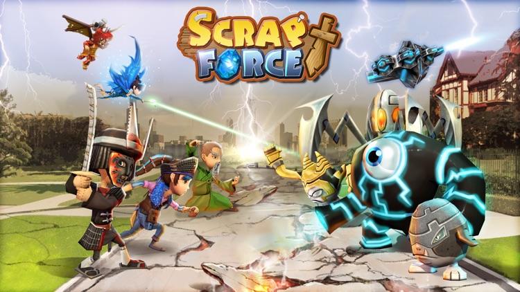 Scrap Force - RPG Tactics screenshot-4
