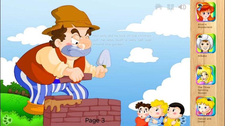 The Selfish Giant - Interactive Book by iBigToy screenshot-4