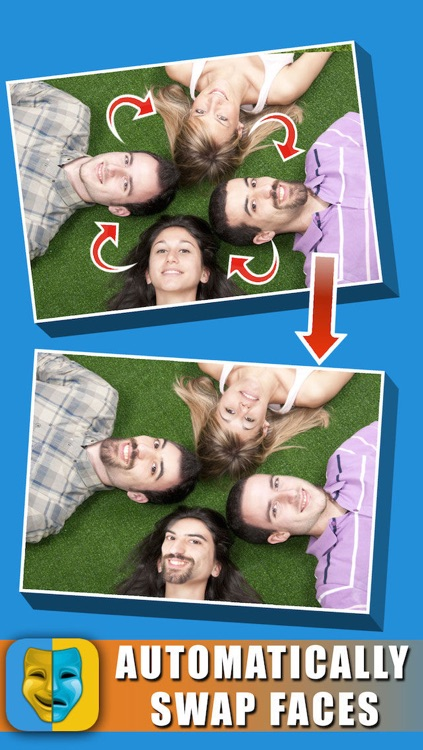 Change Face Morph Effect HD - Swap And Blend Head In Pic Frame Hole !!