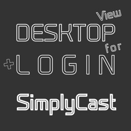 DESKTOP VIEW + LOGIN for SimplyCast