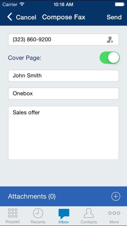 Onebox® business phone app & virtual receptionist screenshot-4