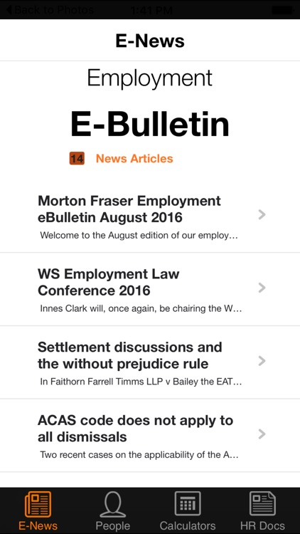 MF HR Mobile screenshot-3