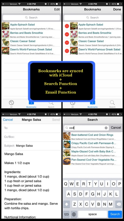 Pescetarian Diet Recipes screenshot-4