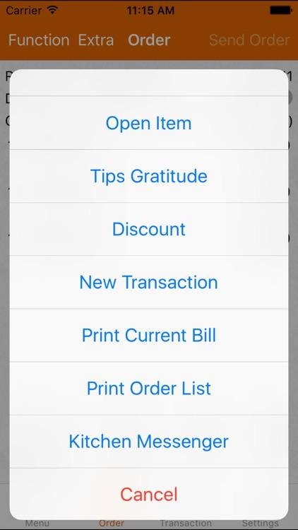 Mobi POS - Point of Sales for iPad & iPhone screenshot-3