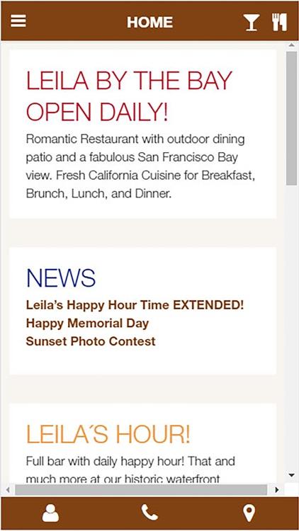 Leila By The Bay Restaurant