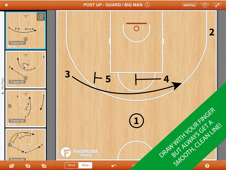 FastDraw Basketball Pro screenshot-1