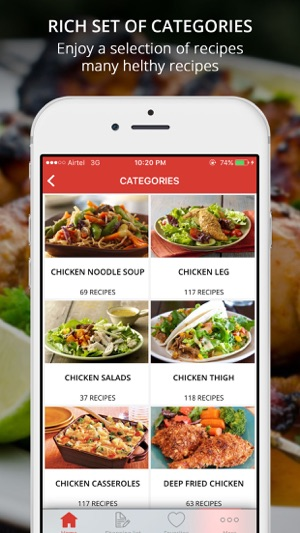 Healthy Chicken Recipes Pro Cook And Learn Guide On The App Store