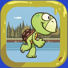 Activities of Tortuga Scape - Turtle's Going Home Adventure leaving the Wet Swamp and Calm Lake - Running and Jump...