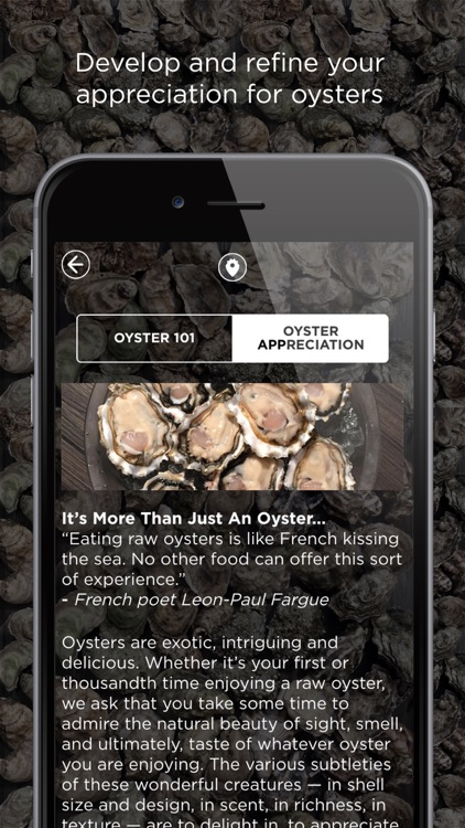 Oystour - Your Premier Guide to Learn and Know More About Oysters! screenshot-3