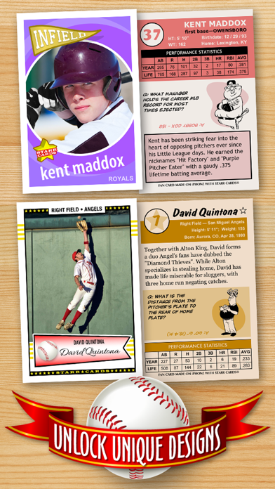 Baseball Card Maker (Ad Free) — Make Your Own Custom Baseball Cards with Starr Cards screenshot three