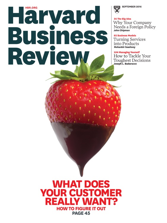 Harvard Business Review (HBR)