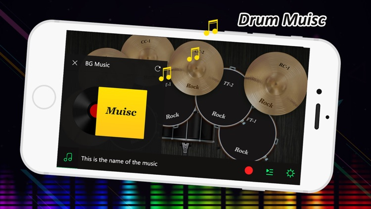 Real Drum Rock Kit screenshot-3