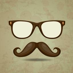 Mustache - Stick Mustache On Your Face
