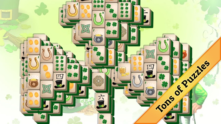 St. Patrick's Day Mahjong screenshot-2