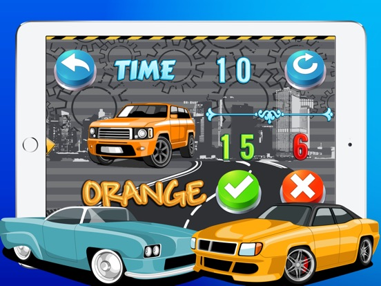 Motor Cars Truck Color Puzzle Match Skills Quiz App Price Drops