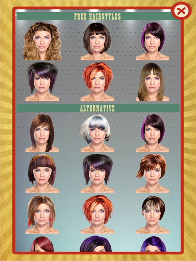 Provare tagli di capelli su foto gratis online