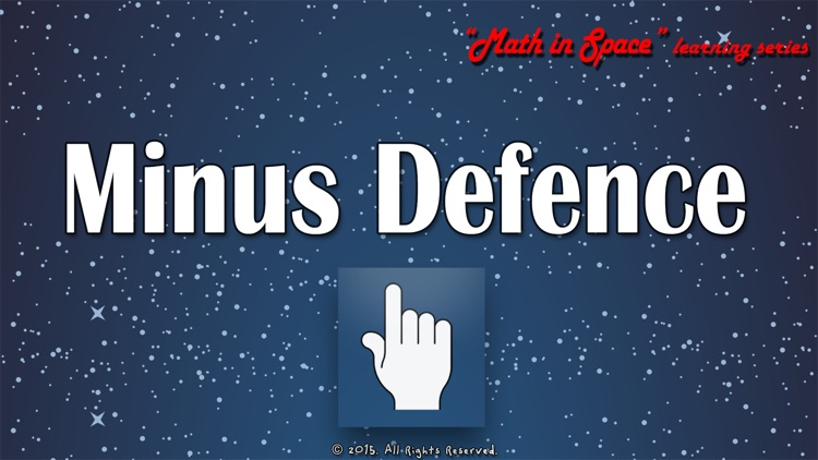 Minus Defence - Math in Space learning series (on TV)