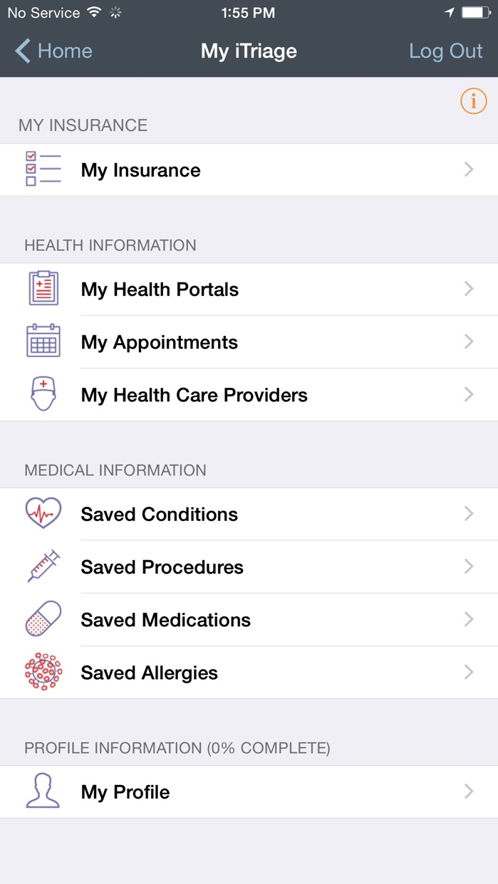 iTriage - Health, Doctor, and Symptoms search Screenshot