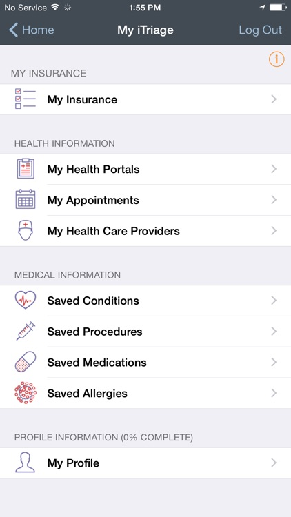 iTriage - Health, Doctor, and Symptoms search