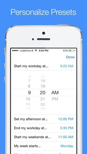 Later - Create Quick Reminders Screenshot