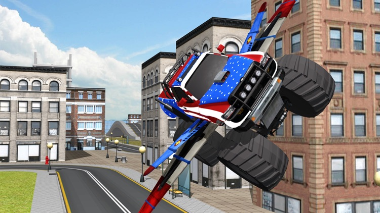 Flying Monster Truck 3d Simulator