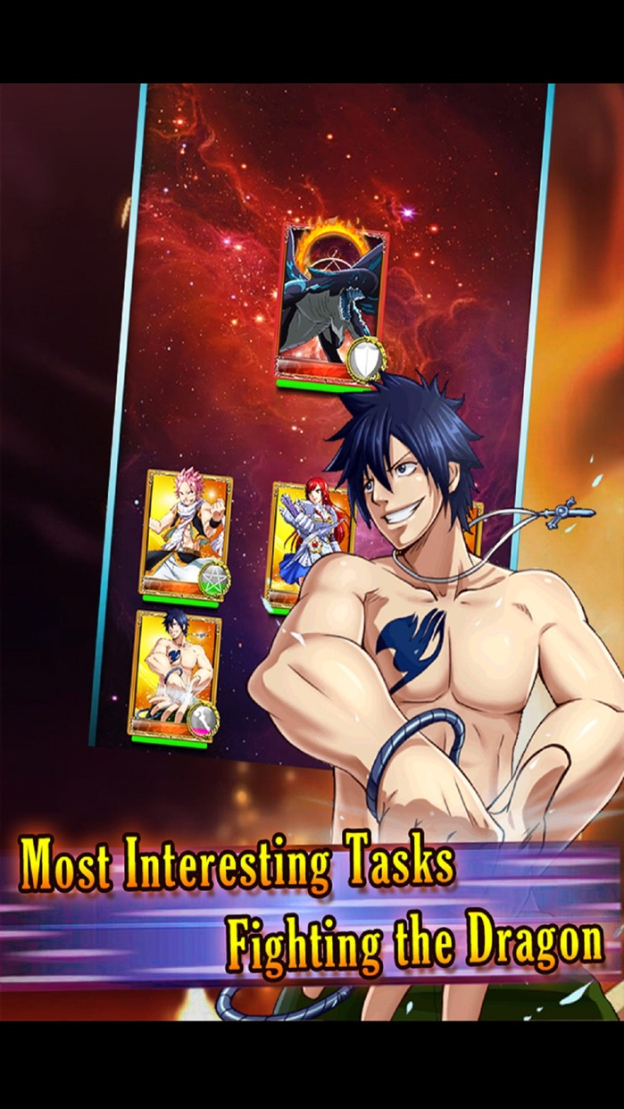 Dragon Mage - Best mobile Fairy Tail game Screenshot