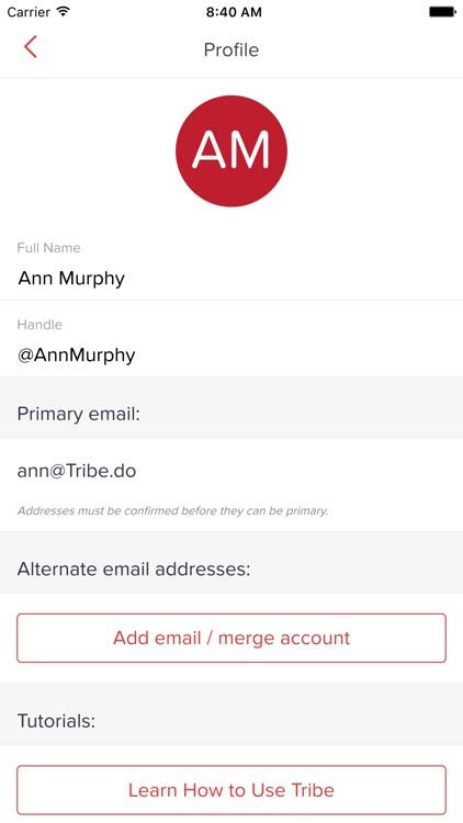 Tribe: Task Management screenshot-3