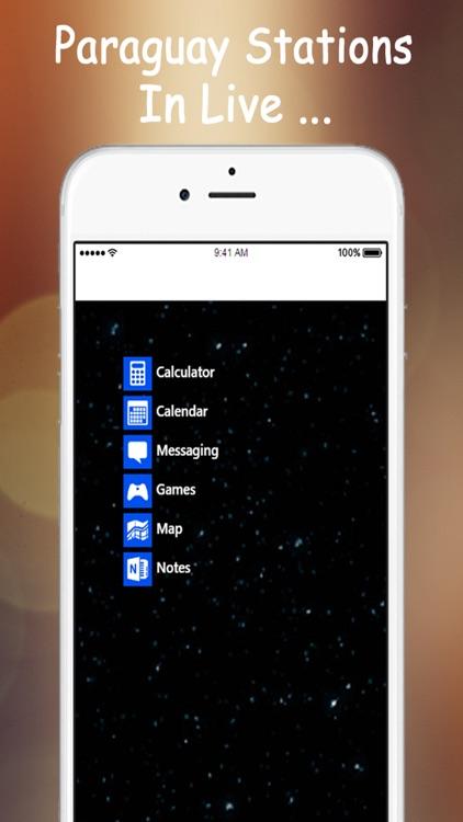 A + Radios Paraguay: Live Stations Fm. screenshot-3