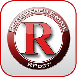 RPost Registered Email Services - iPad edition