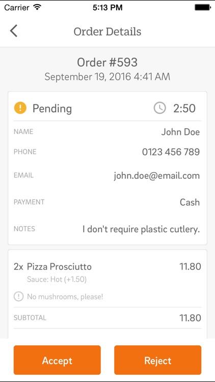 CAKE Order - Free Online Ordering for Restaurants screenshot-3