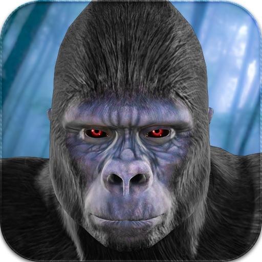 Baixar Selvagem Gorila Simulator 2016: A vida Sobrevivência do Ape Vs Hunters & Wildlife Animals para iOS