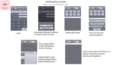 iWritingPen リモコンキーボードマウスのスクリーンショット2