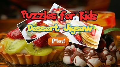 Dessert Jigsaw - Learning fun puzzle game
