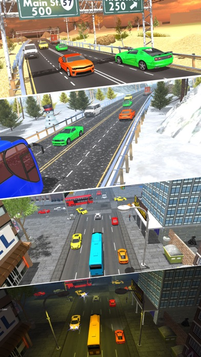 Endless Traffic Highway Racerのおすすめ画像5
