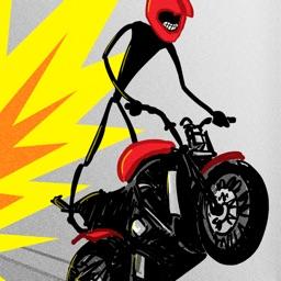 Stickman Street Bike Motorcycle Highway Race - FREE Multiplayer Racing Game