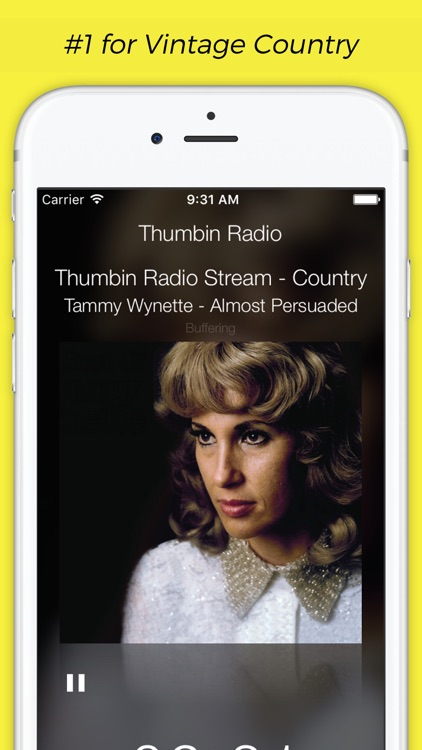 Thumbin Radio - Vintage Country Music