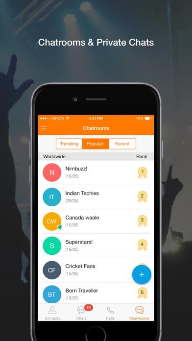 Nimbuzz Messenger screenshot three